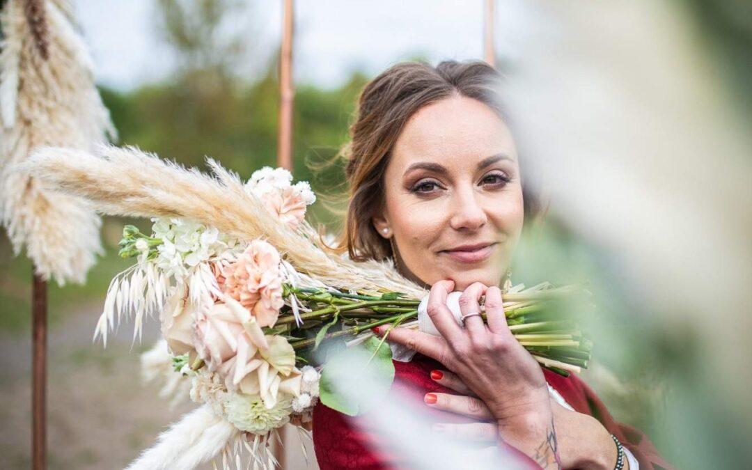 Svatební focení v lomu