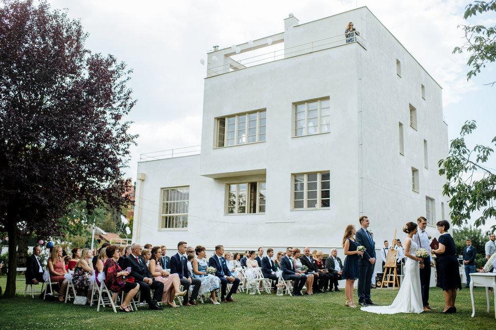 Svatba pod širým nebem – svatba v Praze