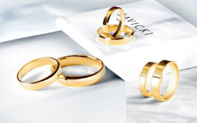 Snubní prsteny – bílé nebo žluté zlato?