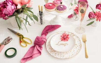 Zábava na svatbě – flower bar